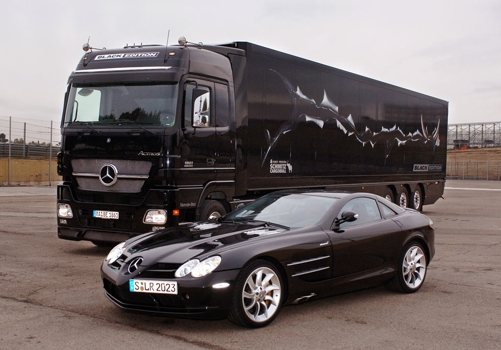 Nákladní a sportovní vůz - Mercedes-Benz