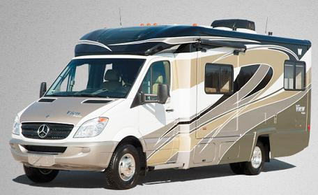 Mercedes Winnebago